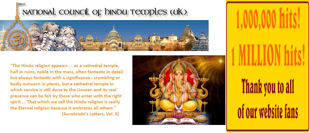 The Voice of the Hindu Temples of the UK